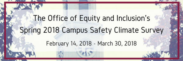 Campus Safety Climate Survey